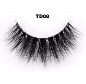 Terlihat Band False Strip Eyelashes Mink False Lashes Natural Effect Super Light